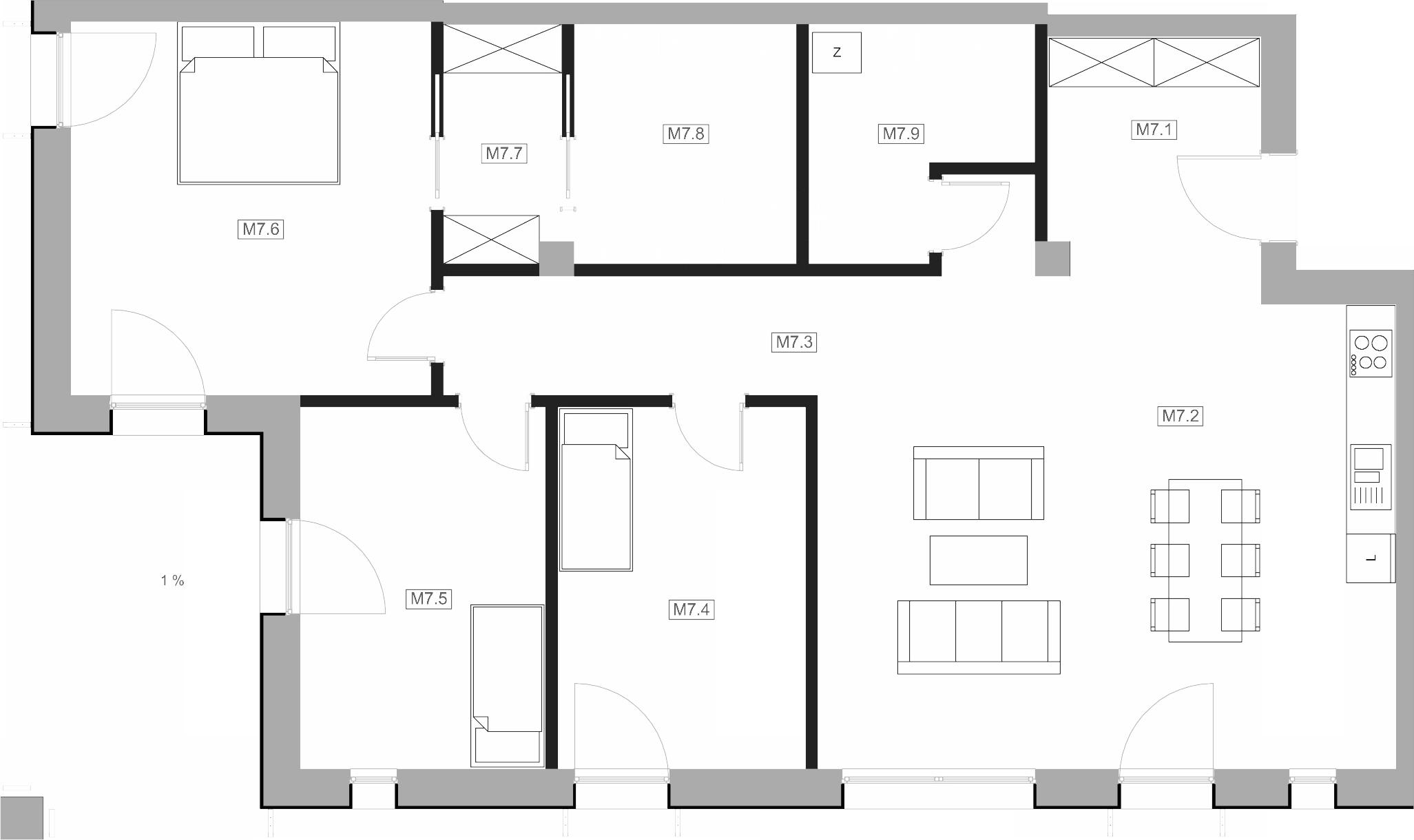 Mieszkanie M7